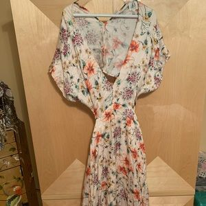 NWT open back dress
